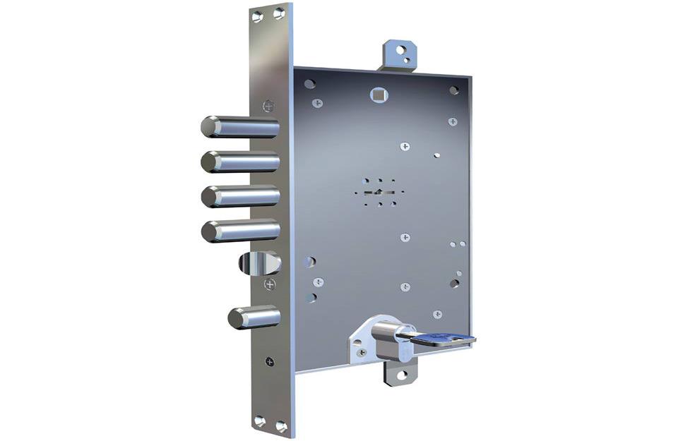 Patentirani sef ključ i cilindar
