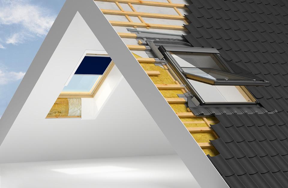 Važan elemenat ispravne instalacije krovnih prozora