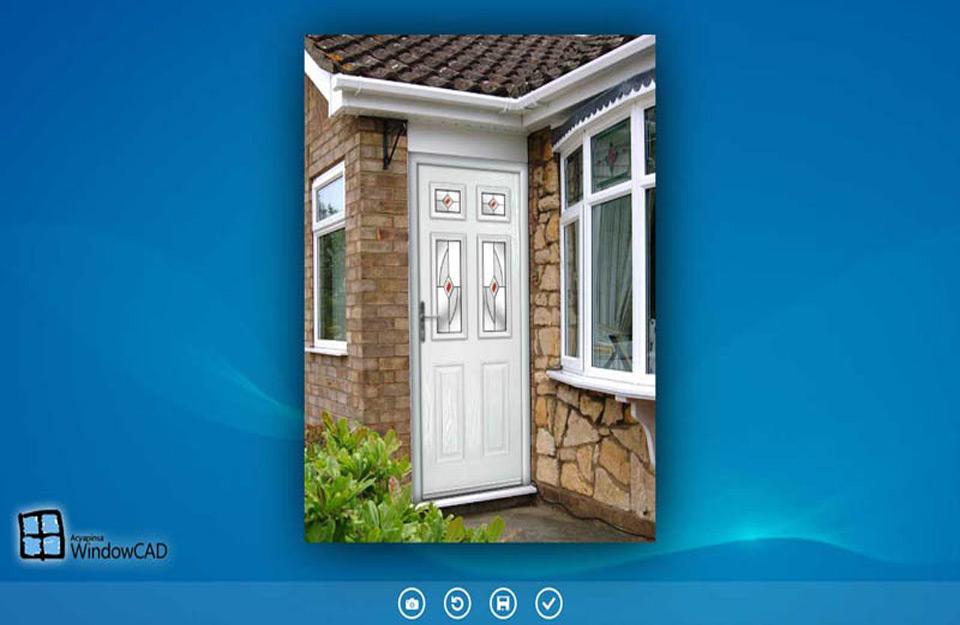 Vizualizacija prozora i vrata u programu