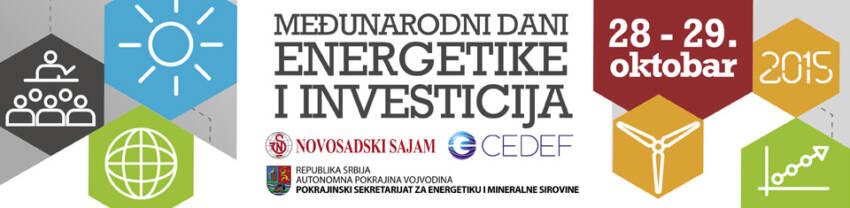 MEĐUNARODNI DANI ENERGETIKE I INVESTICIJA