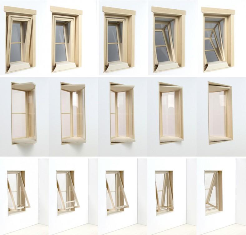 Postoji nekoliko različitih tipova postavki prozora