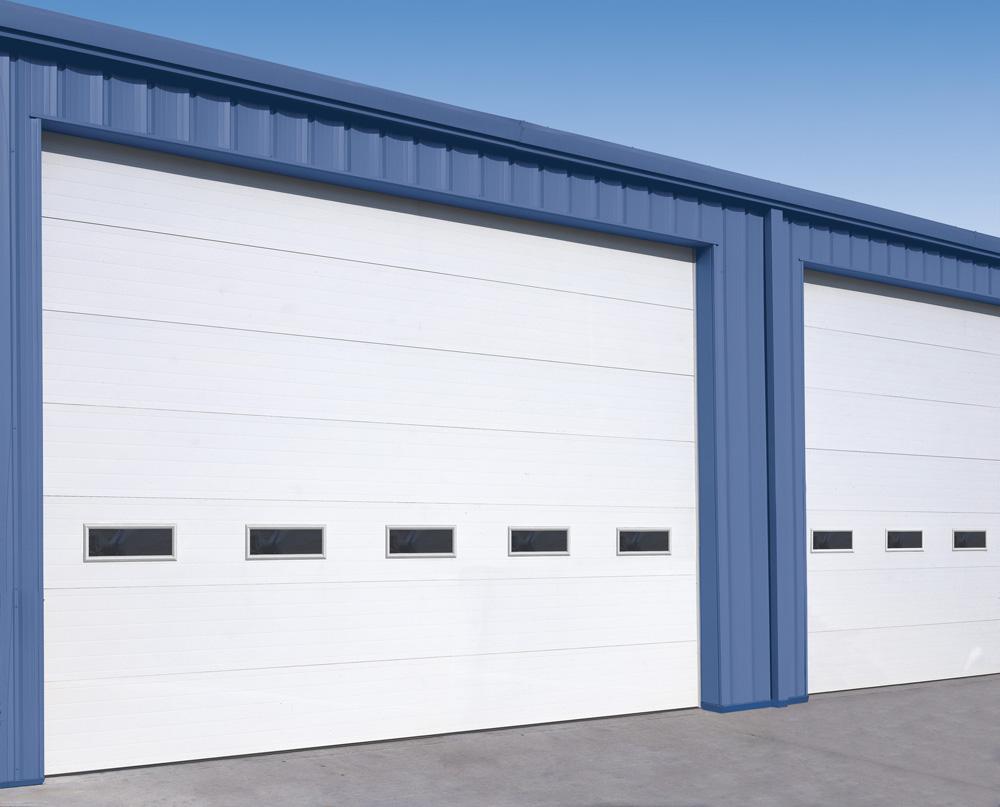 Ulazna industrijska vrata pokrivaju ogromne površine