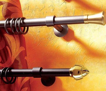 Garnišne u kombinaciji sa zavesom i detaljima za dekoraciju može dodatno pojačati utisak enterijera