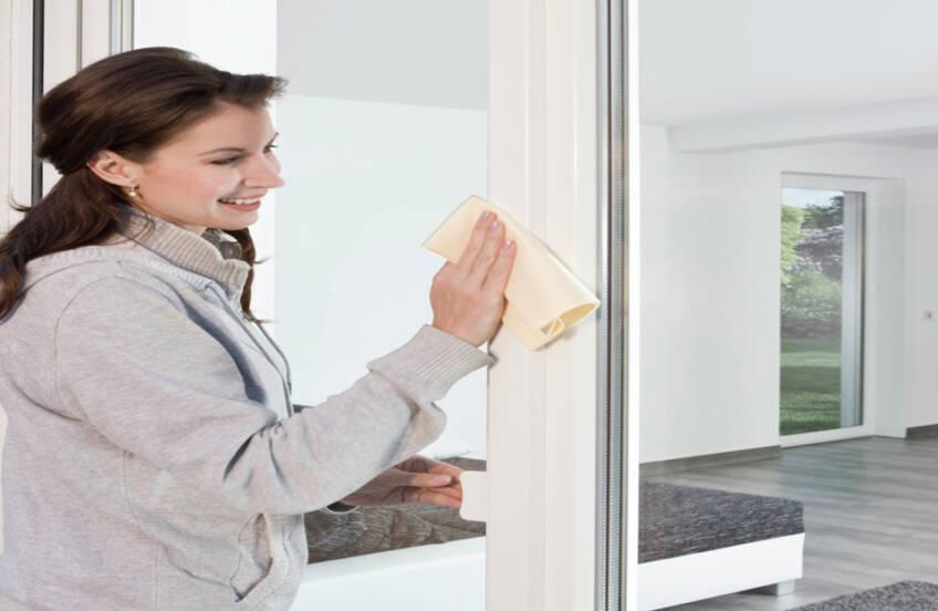 Čišćenje prozorskih profila