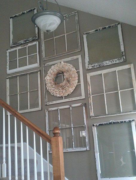 Kako dekorisati zid pored stepeništa