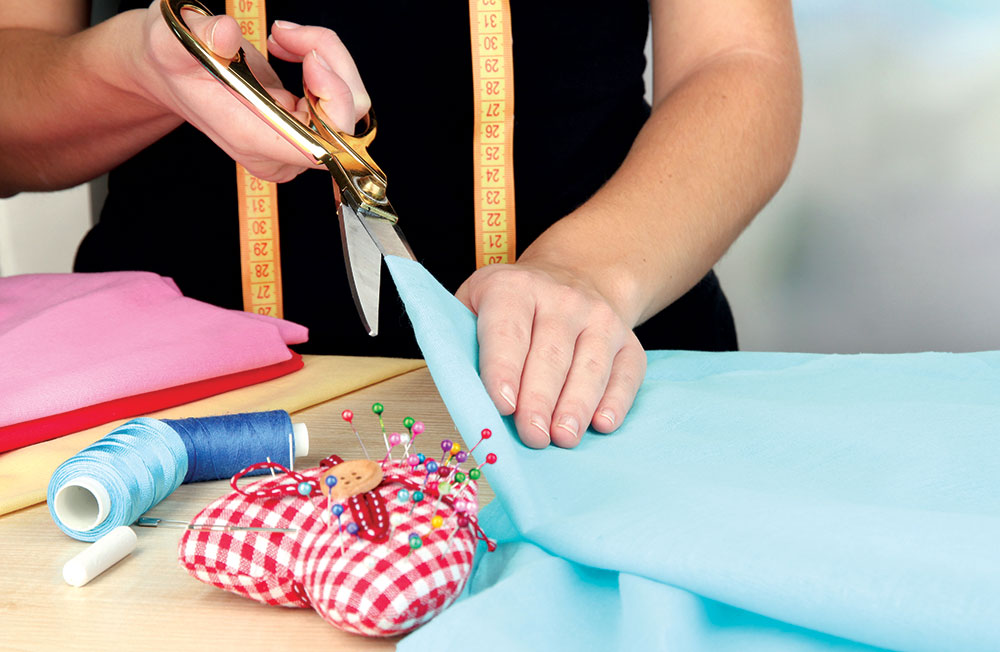 Krojenje materijala za zavese