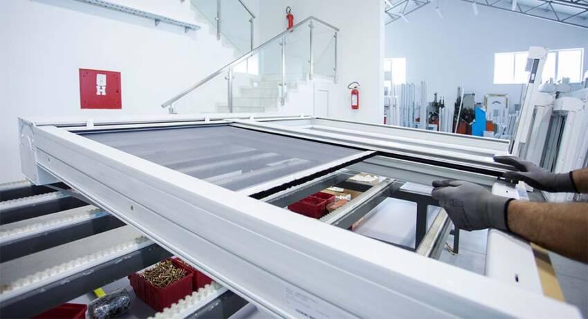 Foto: Roloplast Mošić, proizvodnja PVC stolarije