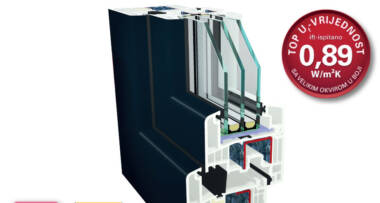 Kako na jednostavan i povoljan način proizvesti prozore koji zadovoljavaju uslove za pasivne kuće