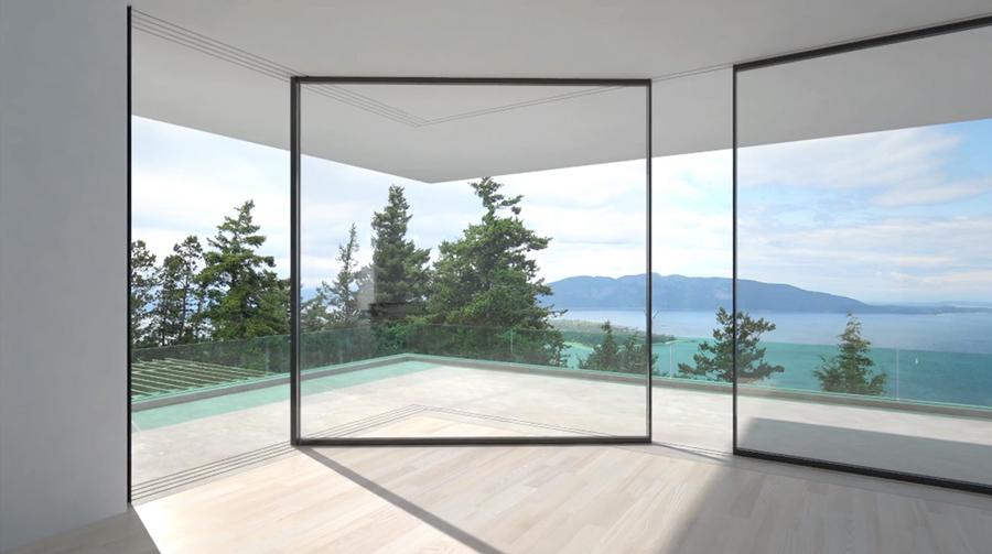 Švajcarski inžinjeri su razvili jedinstveno rešenje klizećih staklenih panela, prozora i vrata velikih površina