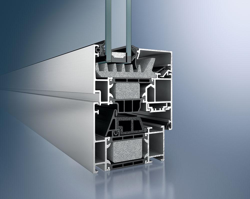 Zapreminska masa ekspandiranog PVC-a kreće se od 40 do 100 kg/m³