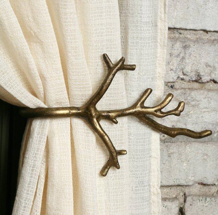 Ne samo zavese, već i stilizovane garnišne mogu ulepšati vaš prostor