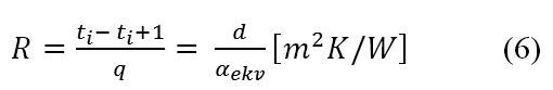 ekvivalentni i ukupni koeficijent toplotne provodljivosti λekv