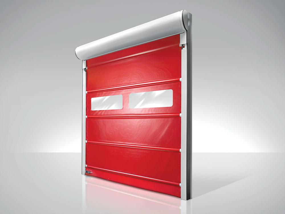 Rolo vrata se najčešće koriste u skladištima i jedinicama je je bezbednost primarna briga