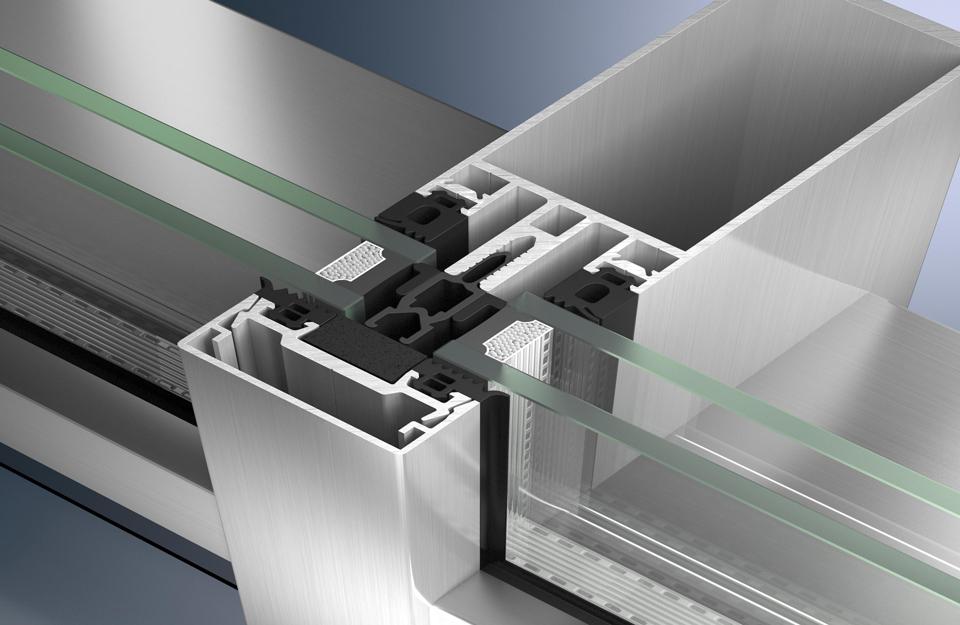 Proizvod za sistemska rešenja za vertikalne fasade i skylghts