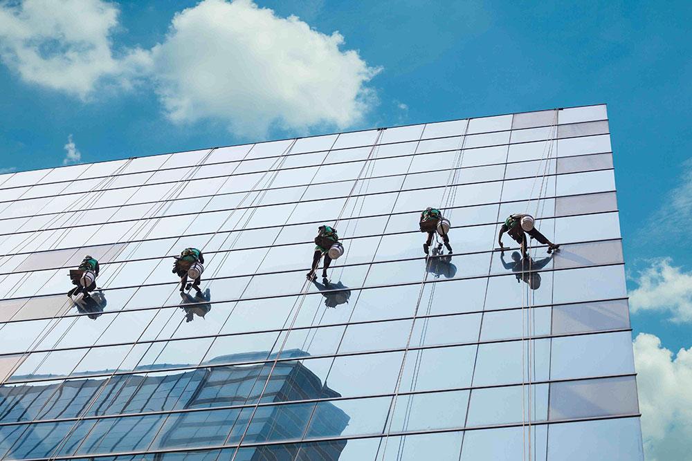 Staklena fasada - odžavanje