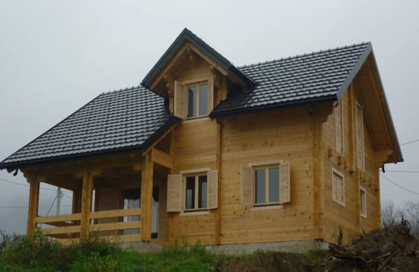 Drvena fasada