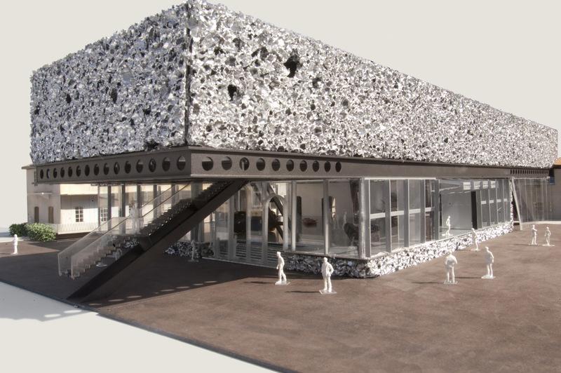 Trodimenzionalni paneli, arhitekte Rem Koolhaas, muzej Prada