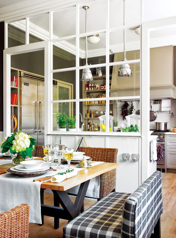 Prozori kao elemenat enterijera, kuhinja i trpezarija