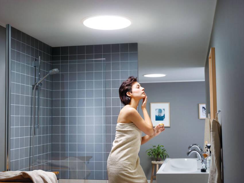 Velux - prirodna svetlost u kupatilu