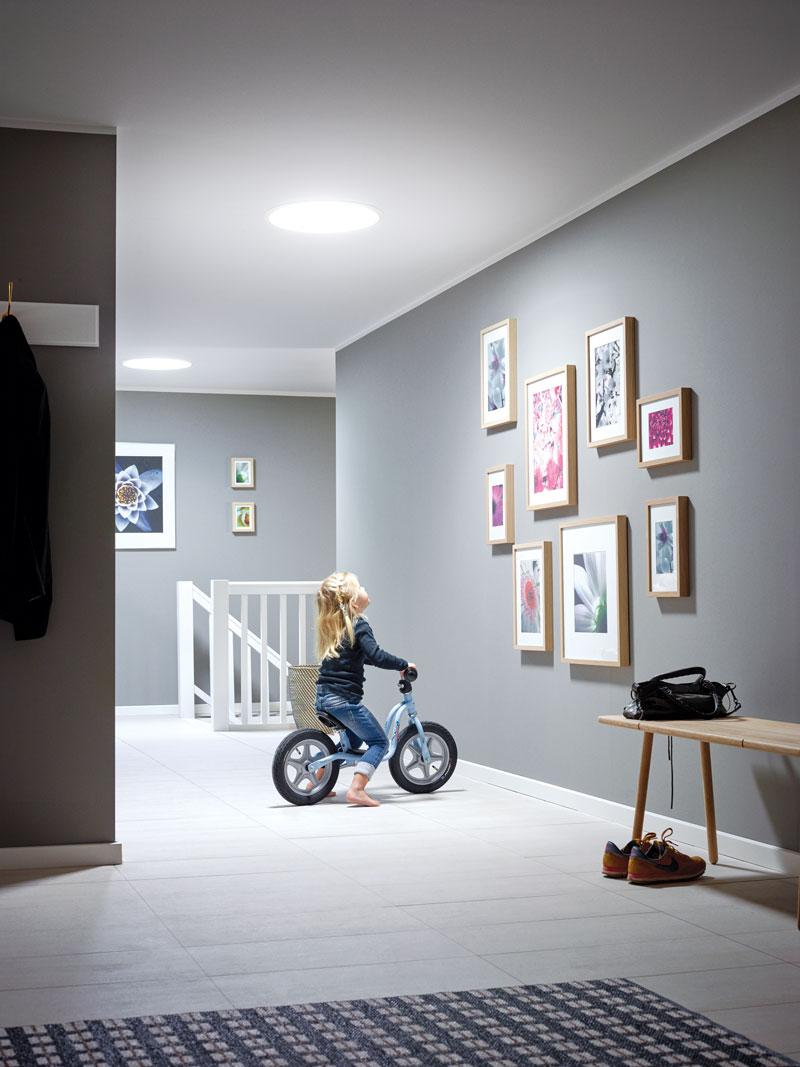 Velux - Prirodna svetlost u hodniku
