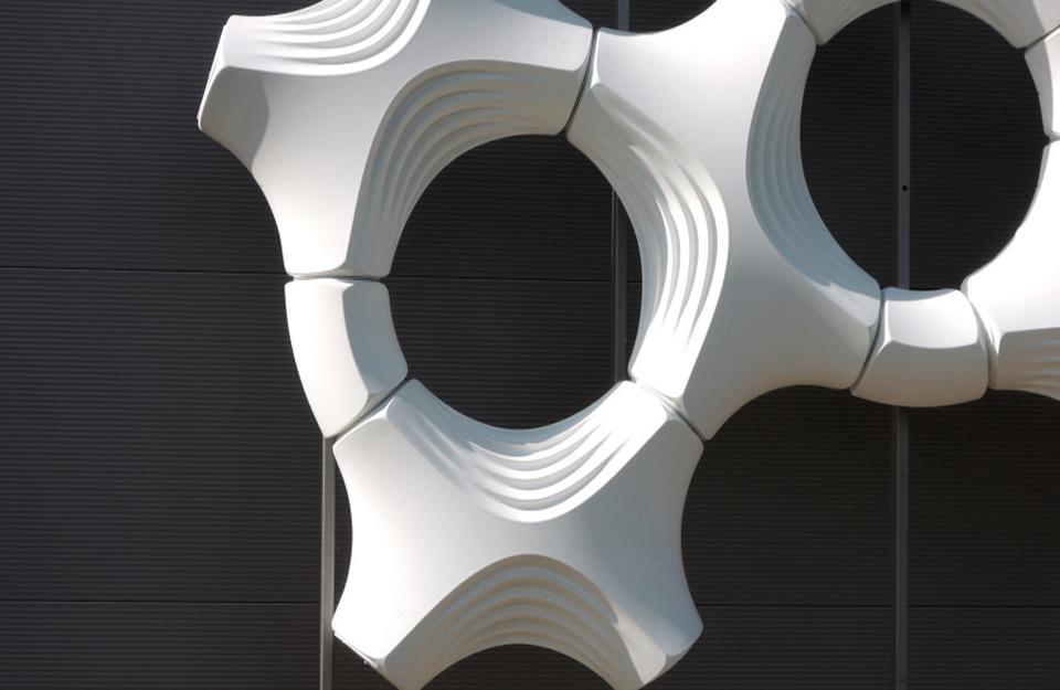 Pločice su obložene titanijum-dioksidom