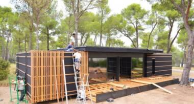 Pogledajte kako se pravi pasivna kuća od sendvič panela za 5 dana