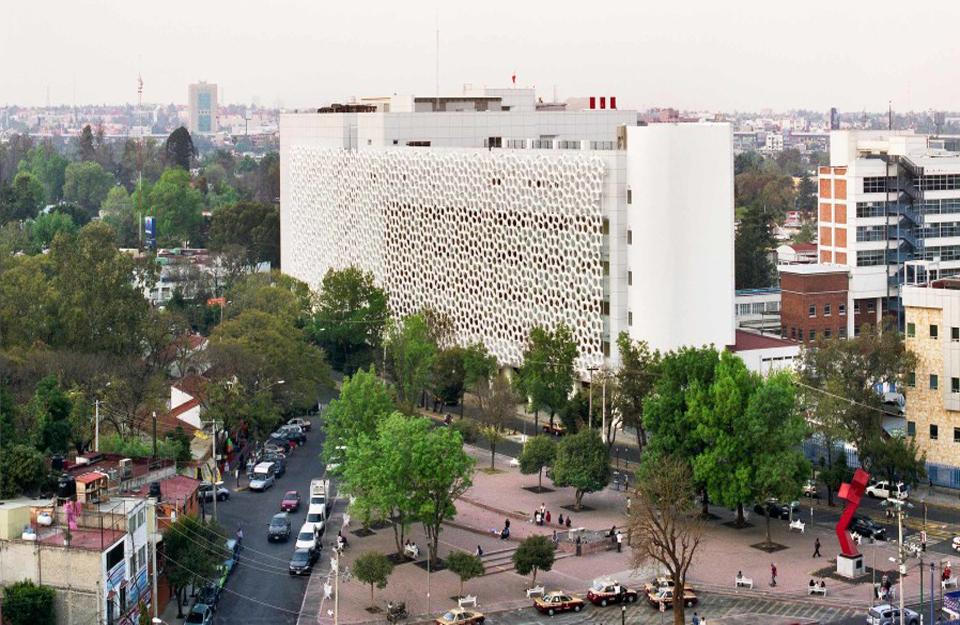 Zgrada bolnice u Meksiko Sitiju