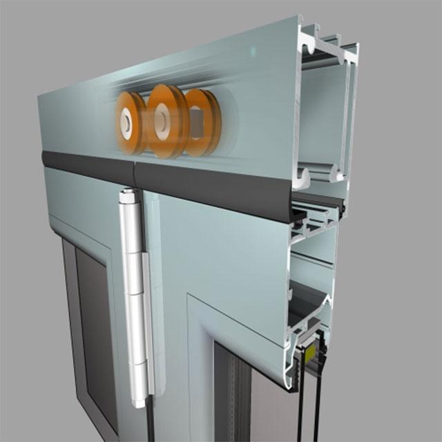 Elvial Folding Door System EL 8200 Flexi