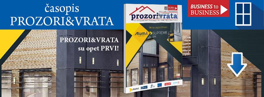 časopis PROZORI&VRATA izdanje broj 16