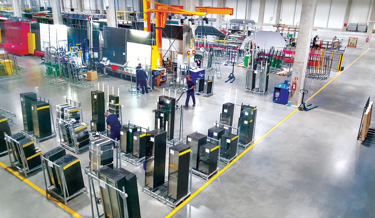 PRESS GLASS proizvodnja - fabrika u Hrvatskoj