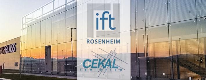 PRESS GLASS sertifikati ift Rosenheim i CEKAL
