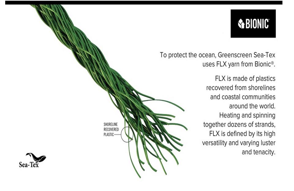 Tkanina-koristi Bionic FLKS prediva