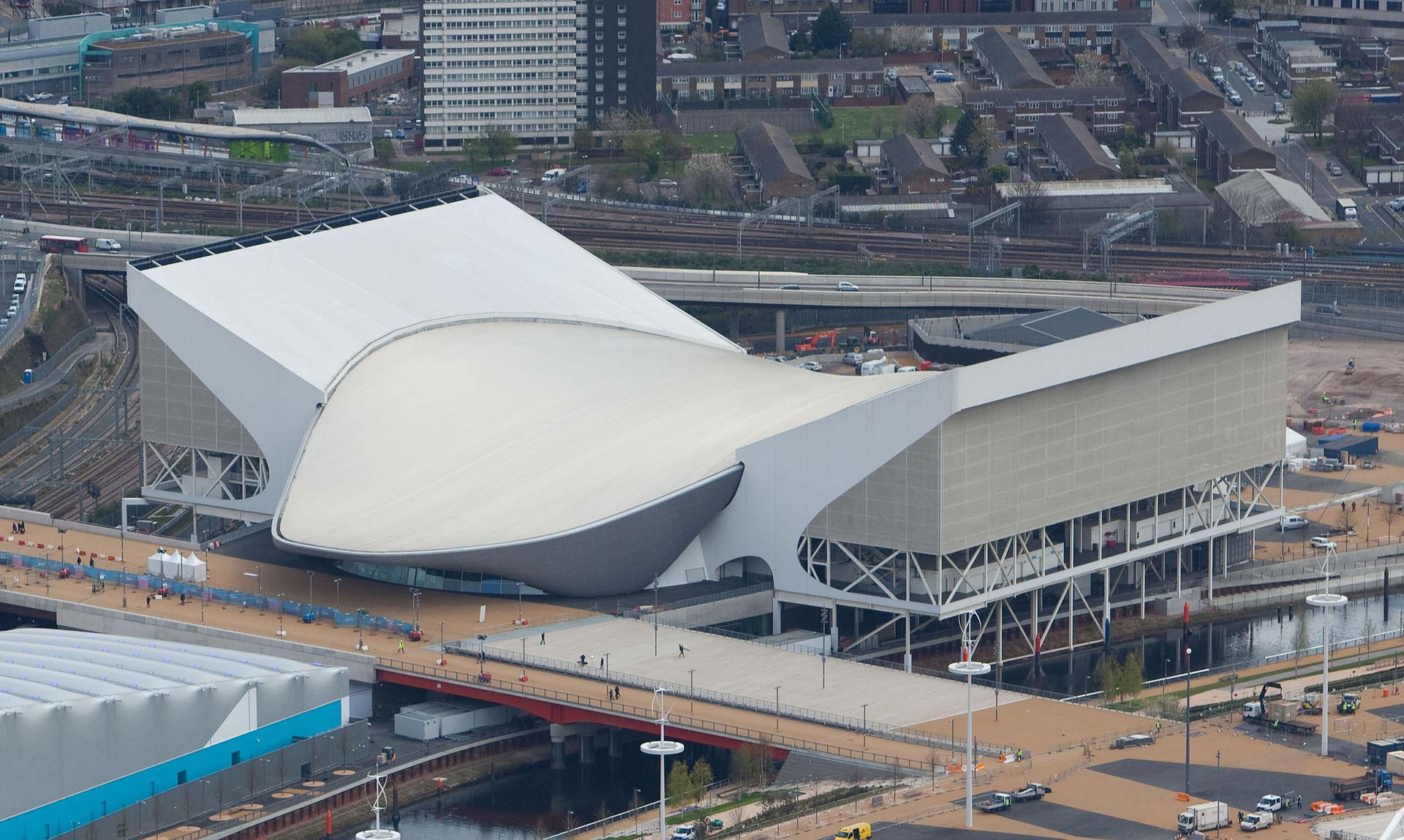 Napravljen je za Olimpijske igre 2012. godine
