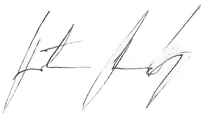 Predrag Rađen potpis