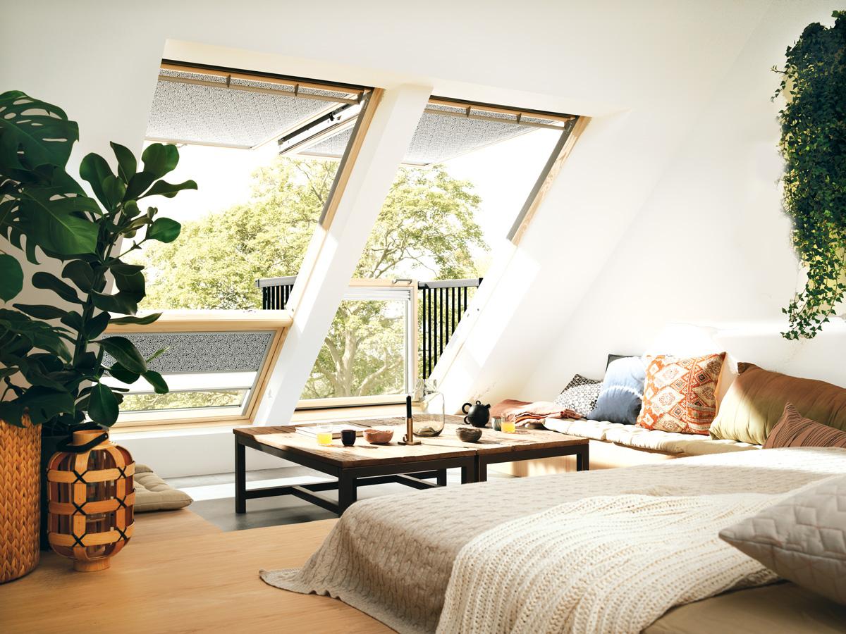 Balkon u potkrovlju - Foto: Velux