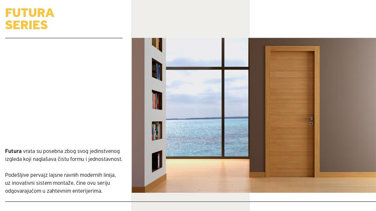 Alumil Interior vrata - Futura series