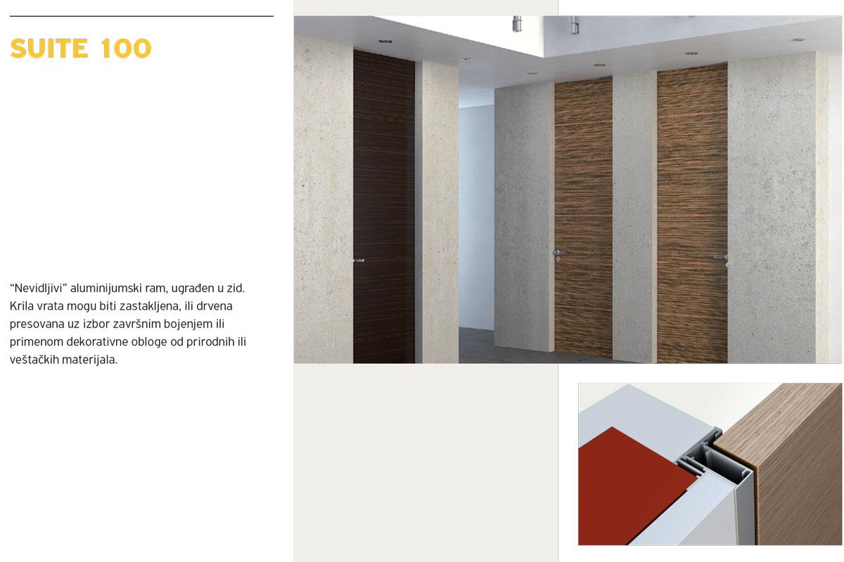 Alumil Interior vrata - Suite 100