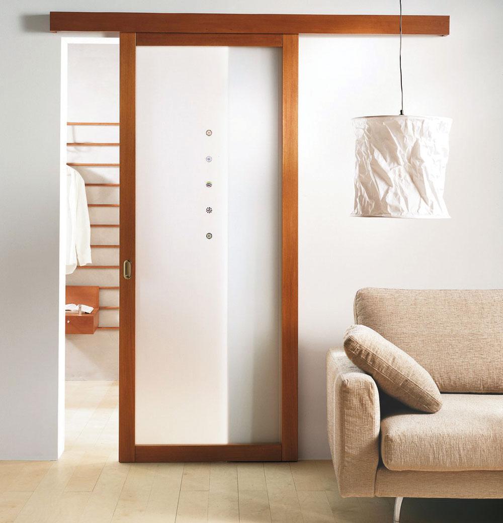 Drvena stolarija - unutrašnja sobna vrata sa staklom