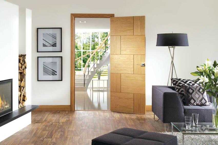 Sobna vrata - drvo Hrast