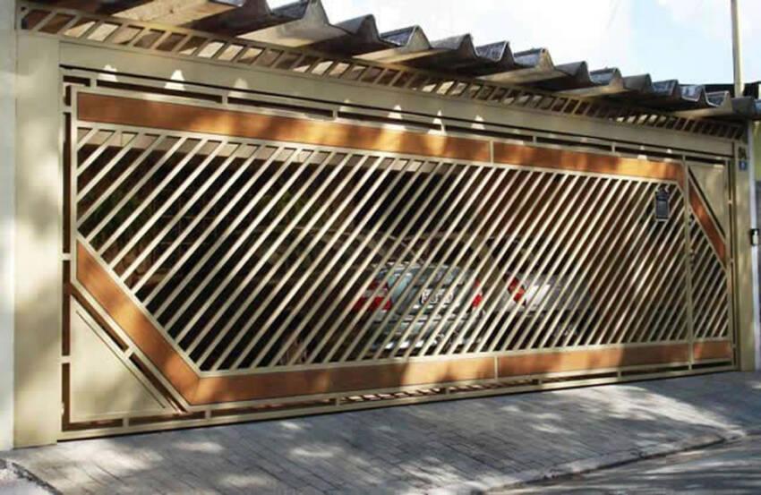 Interesantna garažna vrata
