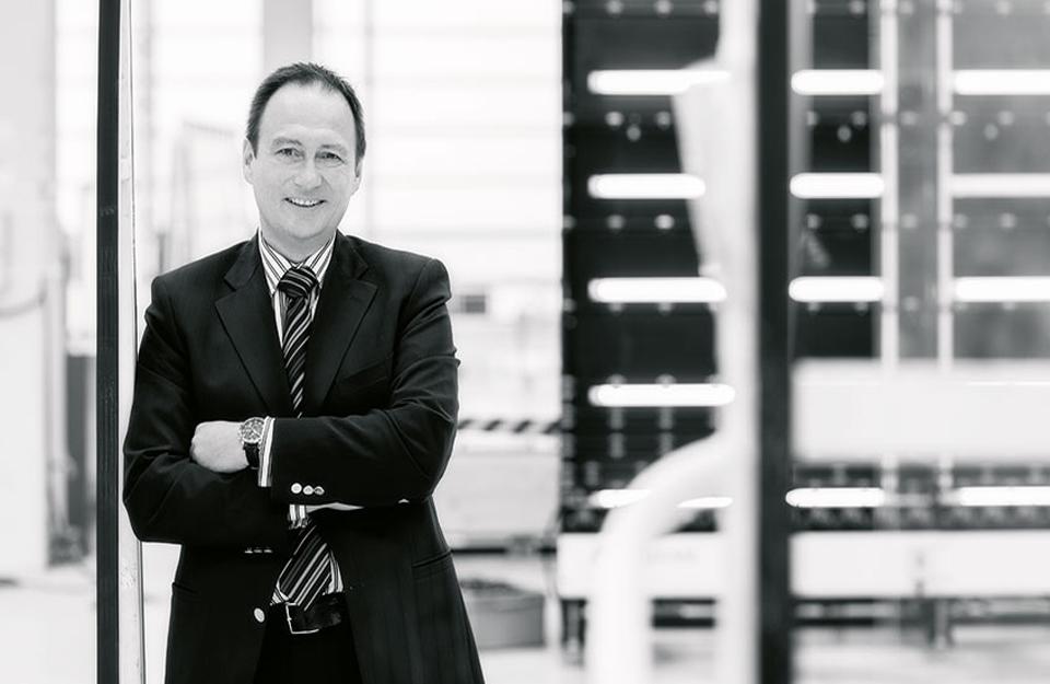 Bernhard Veh, generalni direktor Sedak GmbH &-Co.KG Lisec