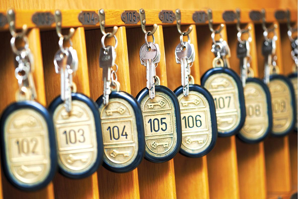 Hoteli imaju svoje sisteme ključeva