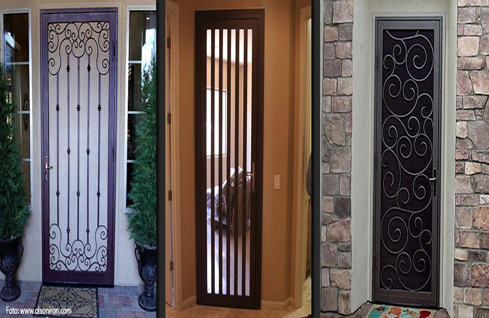 Različiti dizajn sigurnosnih vrata
