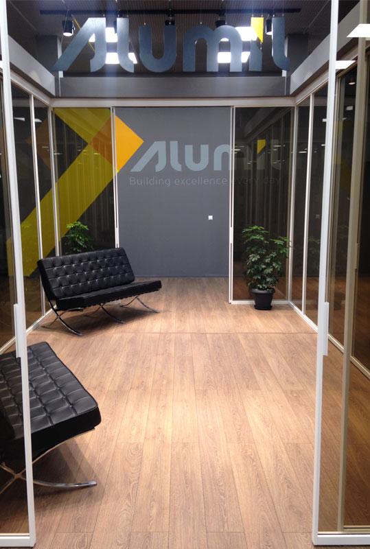 Otvaranje ALUMIL izložbenog salona u Solunu