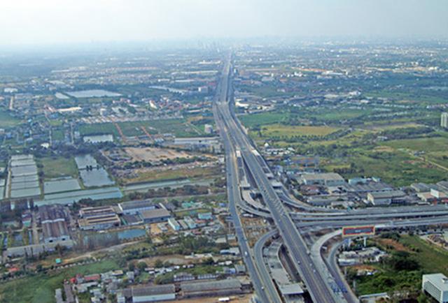 Bang Na Expressway — Bangkok, Tajland