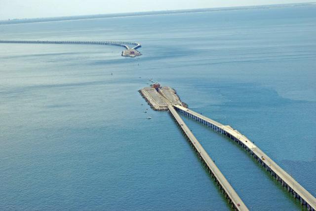 Chesapeake Bay Bridge-Tunnel - Virginia Beach