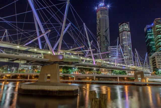 Kuripla Bridge — Brizbejn, Australija