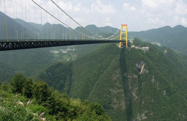 Sidu River Bridge — Yesanguan, Kina