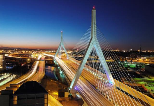 Zakim Bunker Hill Bridge - Boston