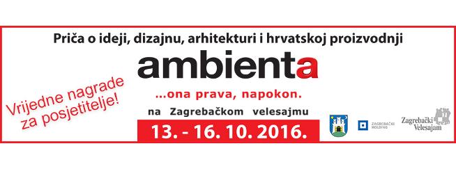 AMBIENTA, 43. međunarodni sajam namještaja, unutarnjeg uređenja i prateće ind...